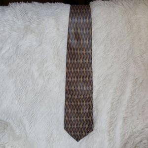 Geoffrey Beene silk necktie